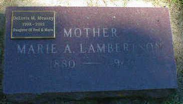 LAMBERTSON MEANEY, DELORIS M. - Cerro Gordo County, Iowa | DELORIS M. LAMBERTSON MEANEY