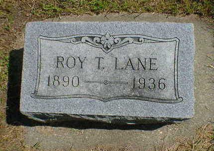 LANE, ROY T. - Cerro Gordo County, Iowa | ROY T. LANE