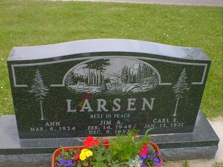 LARSEN, JIM A. - Cerro Gordo County, Iowa | JIM A. LARSEN