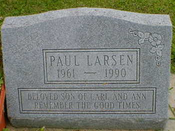 LARSEN, PAUL - Cerro Gordo County, Iowa | PAUL LARSEN