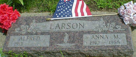 LARSON, ANNA M. - Cerro Gordo County, Iowa | ANNA M. LARSON