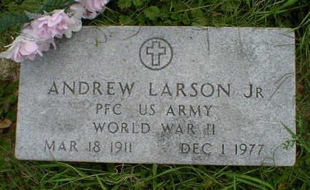 LARSON, ANDREW JR. - Cerro Gordo County, Iowa   ANDREW JR. LARSON