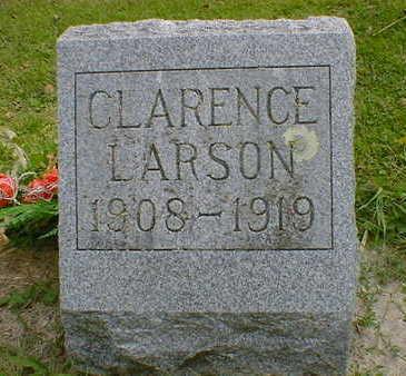 LARSON, CLARENCE - Cerro Gordo County, Iowa | CLARENCE LARSON