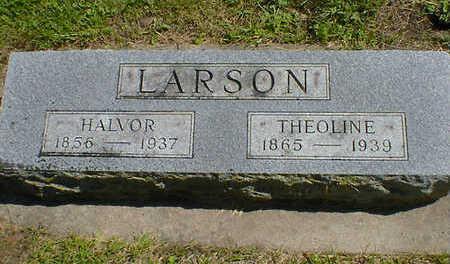 LARSON, THEOLINE - Cerro Gordo County, Iowa   THEOLINE LARSON