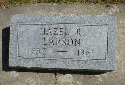 LARSON, HAZEL R. - Cerro Gordo County, Iowa   HAZEL R. LARSON