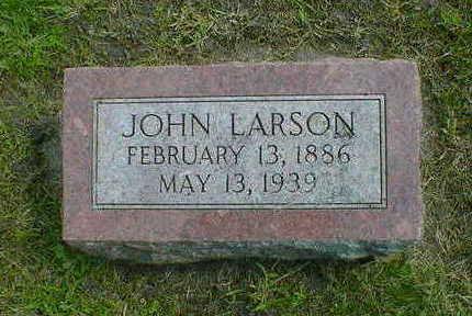 LARSON, JOHN - Cerro Gordo County, Iowa | JOHN LARSON