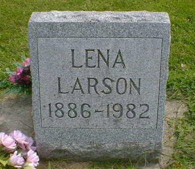 LARSON, LENA - Cerro Gordo County, Iowa | LENA LARSON