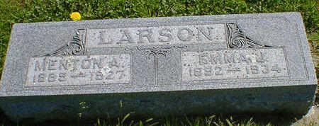 LARSON, MENTON A. - Cerro Gordo County, Iowa | MENTON A. LARSON