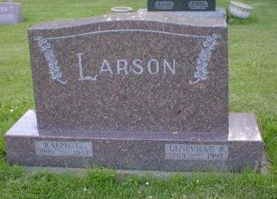 LARSON, RALPH G. - Cerro Gordo County, Iowa | RALPH G. LARSON