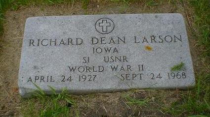 LARSON, RICHARD DEAN - Cerro Gordo County, Iowa | RICHARD DEAN LARSON