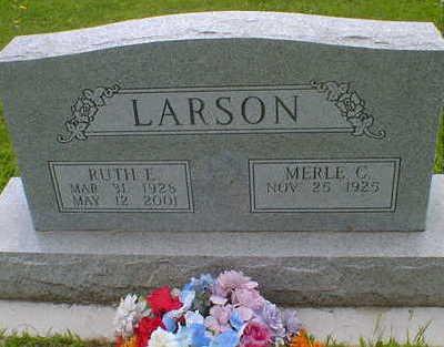 LARSON, RUTH E. - Cerro Gordo County, Iowa | RUTH E. LARSON