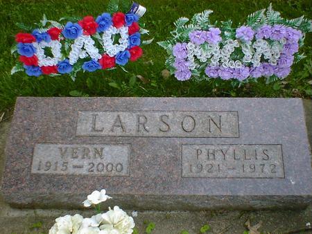 LARSON, PHYLLIS - Cerro Gordo County, Iowa | PHYLLIS LARSON
