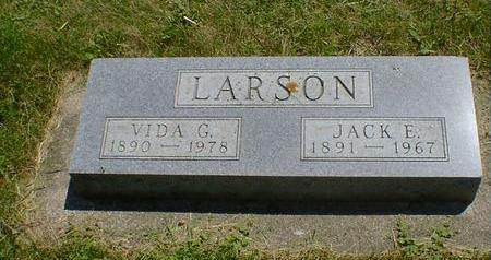 LARSON, JACK E. - Cerro Gordo County, Iowa | JACK E. LARSON