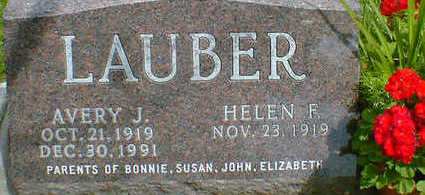 LAUBER, AVERY J. - Cerro Gordo County, Iowa   AVERY J. LAUBER