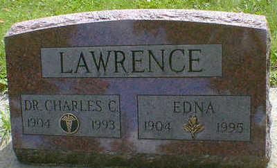 LAWRENCE, CHARLES C. - Cerro Gordo County, Iowa   CHARLES C. LAWRENCE