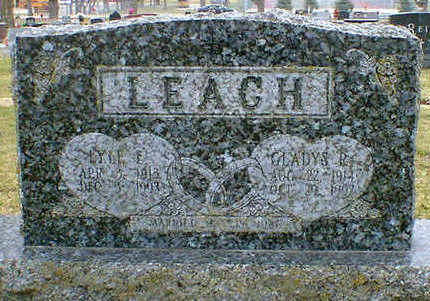LEACH, LYLE - Cerro Gordo County, Iowa | LYLE LEACH