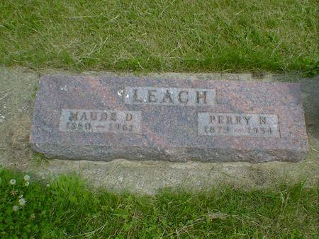 LEACH, MAUDE D. - Cerro Gordo County, Iowa | MAUDE D. LEACH