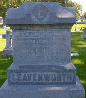 LEAVENWORTH, EMMA C. - Cerro Gordo County, Iowa | EMMA C. LEAVENWORTH