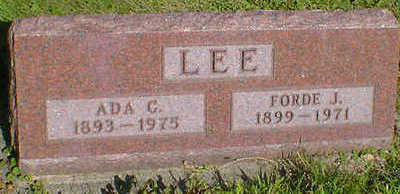LEE, FORDE J. - Cerro Gordo County, Iowa | FORDE J. LEE