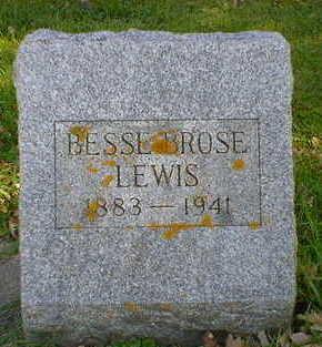 BROSE LEWIS, BESSIE - Cerro Gordo County, Iowa | BESSIE BROSE LEWIS