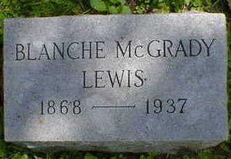 MCGRADY LEWIS, BLANCHE - Cerro Gordo County, Iowa | BLANCHE MCGRADY LEWIS