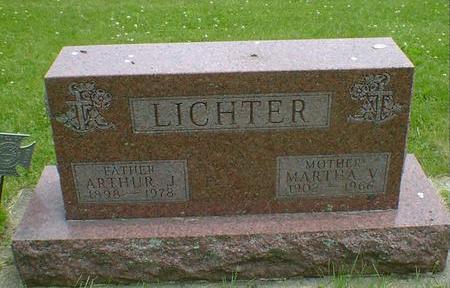 LICHTER, ARTHUR J. - Cerro Gordo County, Iowa | ARTHUR J. LICHTER