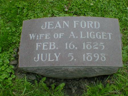 LIGGET, JEAN - Cerro Gordo County, Iowa | JEAN LIGGET