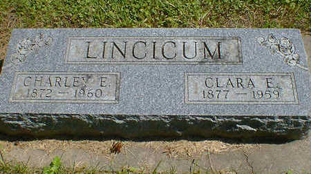 LINCICUM, CLARA A. - Cerro Gordo County, Iowa | CLARA A. LINCICUM