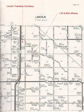 LINCOLN TOWNSHIP, CEMETERY - Cerro Gordo County, Iowa | CEMETERY LINCOLN TOWNSHIP