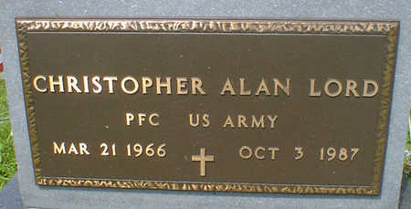 LORD, CHRISTOPHER ALAN - Cerro Gordo County, Iowa | CHRISTOPHER ALAN LORD
