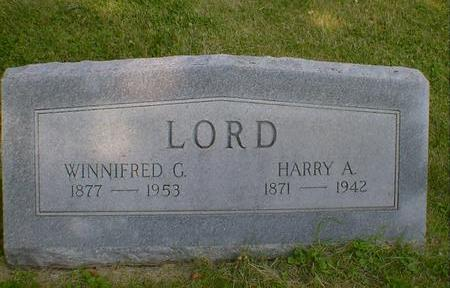 LORD, WINNIFRED G. - Cerro Gordo County, Iowa | WINNIFRED G. LORD
