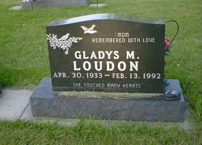 LOUDON, GLADYS M. - Cerro Gordo County, Iowa | GLADYS M. LOUDON