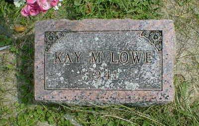 LOWE, KAY M. - Cerro Gordo County, Iowa | KAY M. LOWE