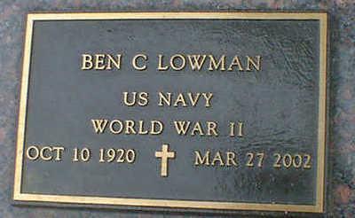 LOWMAN, BEN C. - Cerro Gordo County, Iowa | BEN C. LOWMAN