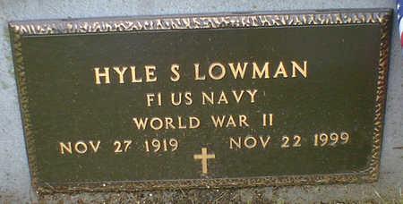 LOWMAN, HYLE S. - Cerro Gordo County, Iowa | HYLE S. LOWMAN