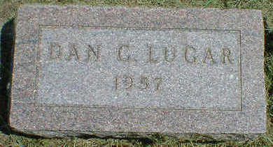 LUGAR, DAN C. - Cerro Gordo County, Iowa | DAN C. LUGAR
