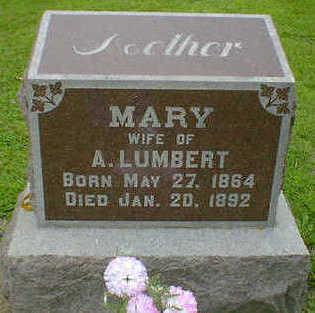 LUMBERT, MARY - Cerro Gordo County, Iowa | MARY LUMBERT