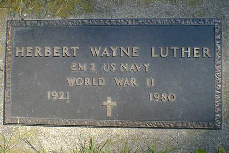 LUTHER, HERBERT WAYNE - Cerro Gordo County, Iowa | HERBERT WAYNE LUTHER