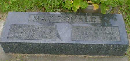 MAC DONALD, ELIZABETH J. - Cerro Gordo County, Iowa | ELIZABETH J. MAC DONALD