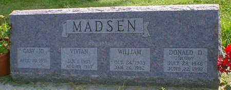 MADSEN, VIVIAN - Cerro Gordo County, Iowa | VIVIAN MADSEN