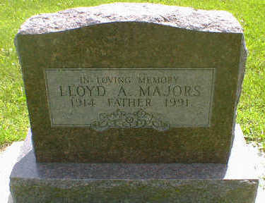 MAJORS, LLOYD A. - Cerro Gordo County, Iowa | LLOYD A. MAJORS