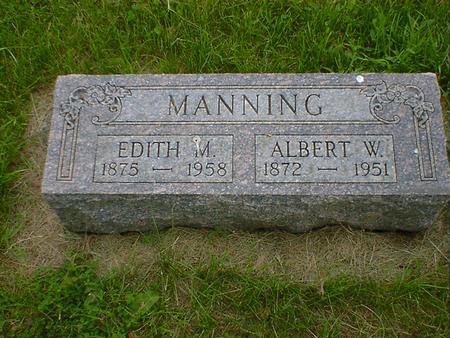 MANNING, ALBERT W. - Cerro Gordo County, Iowa | ALBERT W. MANNING
