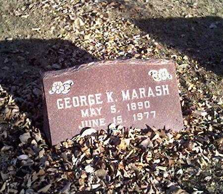 MARASH, GEORGE - Cerro Gordo County, Iowa | GEORGE MARASH