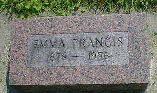 MARLOW, EMMA FRANCIS - Cerro Gordo County, Iowa   EMMA FRANCIS MARLOW