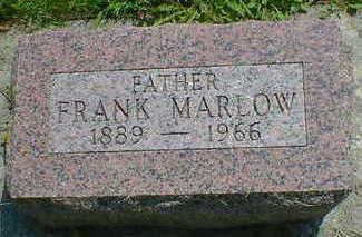MARLOW, FRANK - Cerro Gordo County, Iowa | FRANK MARLOW