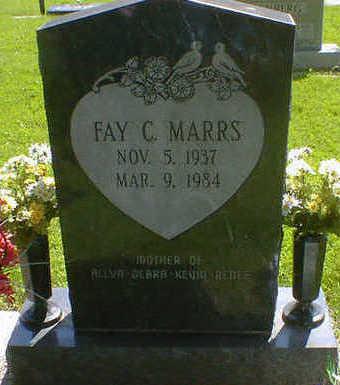 MARRS, FAY C. - Cerro Gordo County, Iowa   FAY C. MARRS