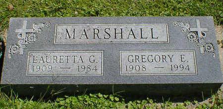 MARSHALL, GREGORY E. - Cerro Gordo County, Iowa | GREGORY E. MARSHALL