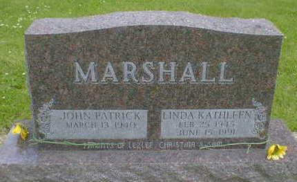 MARSHALL, LINDA KATHLEEN - Cerro Gordo County, Iowa | LINDA KATHLEEN MARSHALL