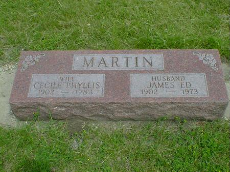 MARTIN, JAMES ED - Cerro Gordo County, Iowa | JAMES ED MARTIN