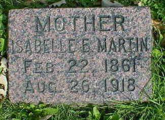 MARTIN, ISABELLE E. - Cerro Gordo County, Iowa | ISABELLE E. MARTIN